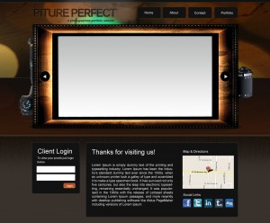 picture perfect photographers website