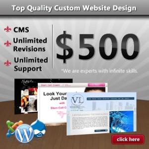 web design ad